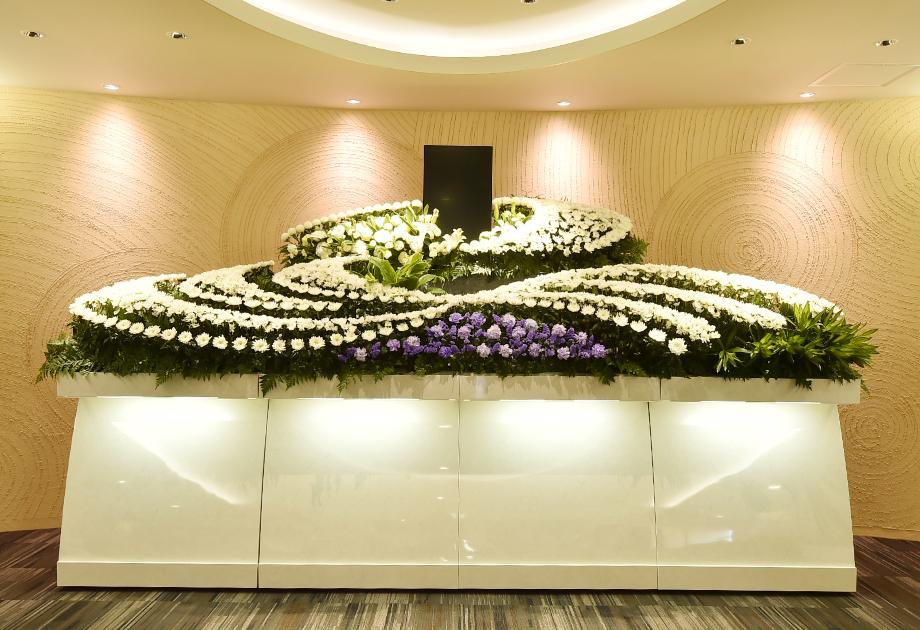 花祭壇の一例