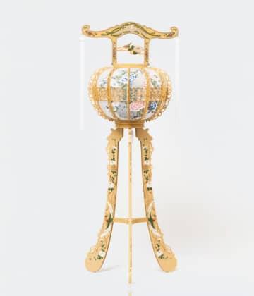 灯篭(木)高さ125cm