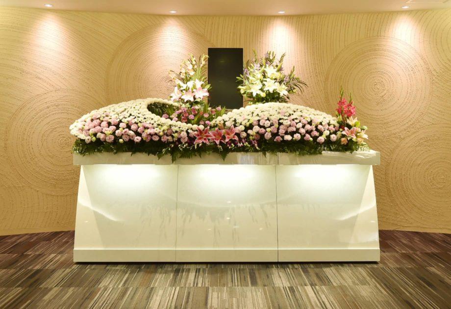 善導寺ホール(久留米市) の 花祭壇